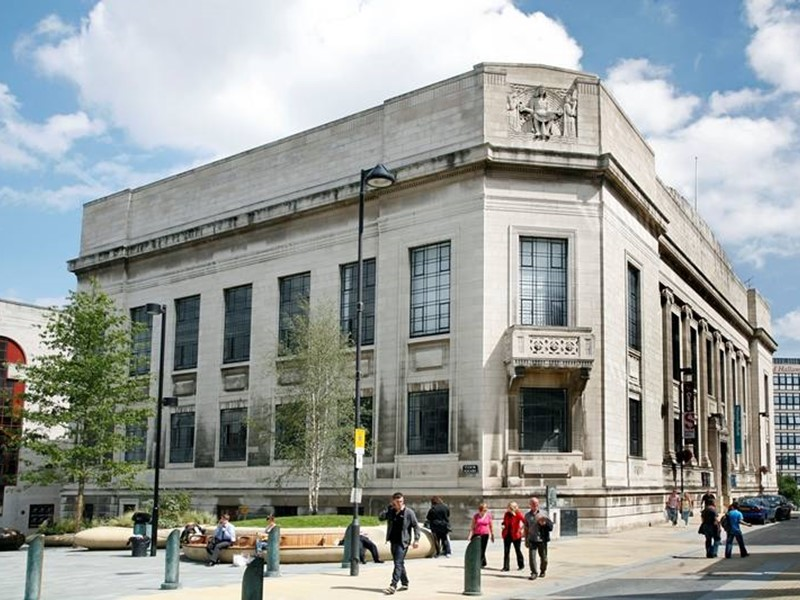 Sheffield's Central Library