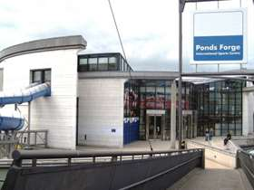 Outside Ponds Forge sports centre