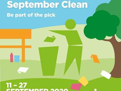 Join the great British September clean with Keep Britain Tidy logo