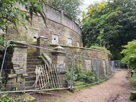 The catacombs at Sheffield General Cemetery