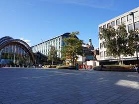 Sheffield city centre, theatre district