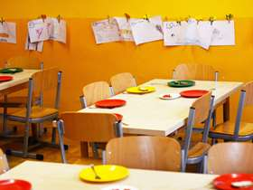 School dining room
