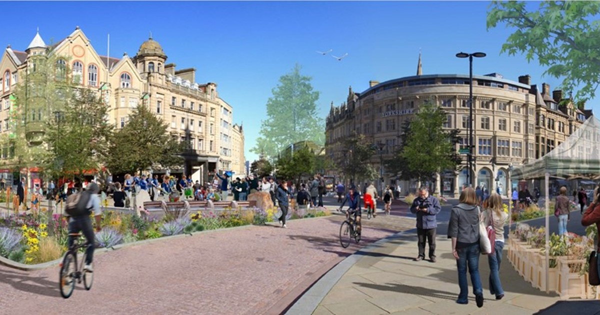 Visualisation of Town Hall Square