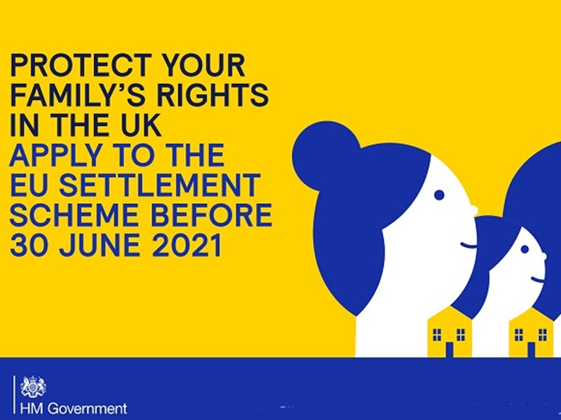 Protect your family rights in the UK. Apply to the EU settlement scheme before 30 June 2021 - faces of people
