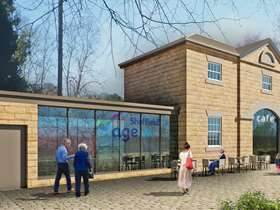 Artist impression of the redevelopment plans for the Old Coach House building