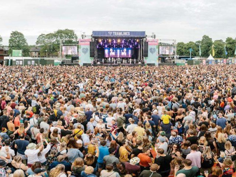 Crowd at Tramlines