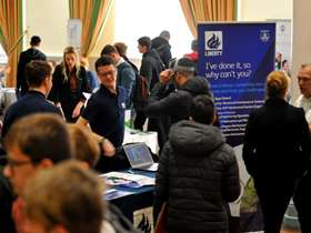 People at last years apprenticeship event
