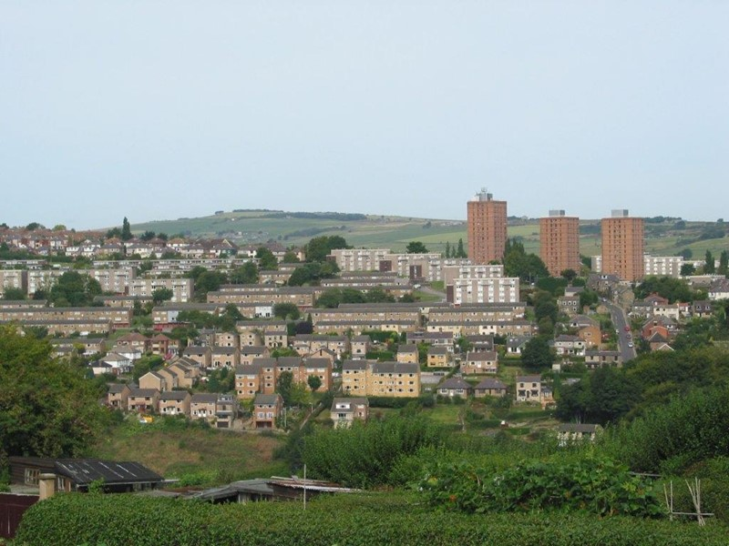 Stannington view from Crosspool