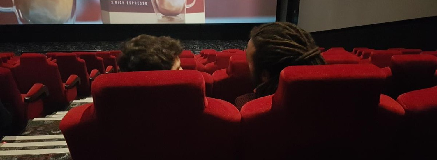 Seats in a cinema