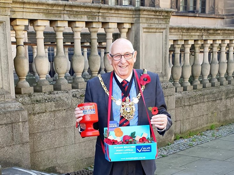 Tony the poppy man
