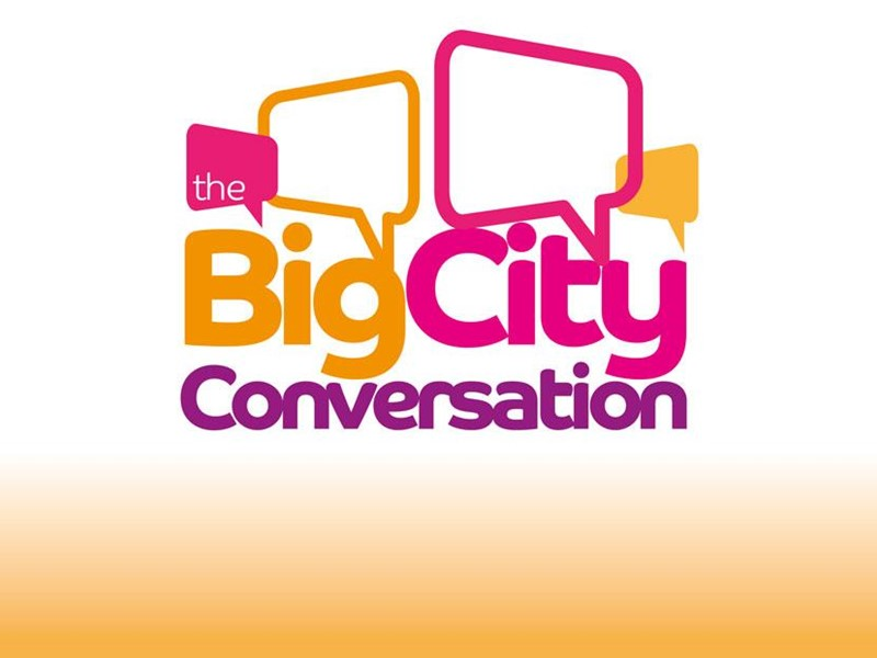 Big city conversation