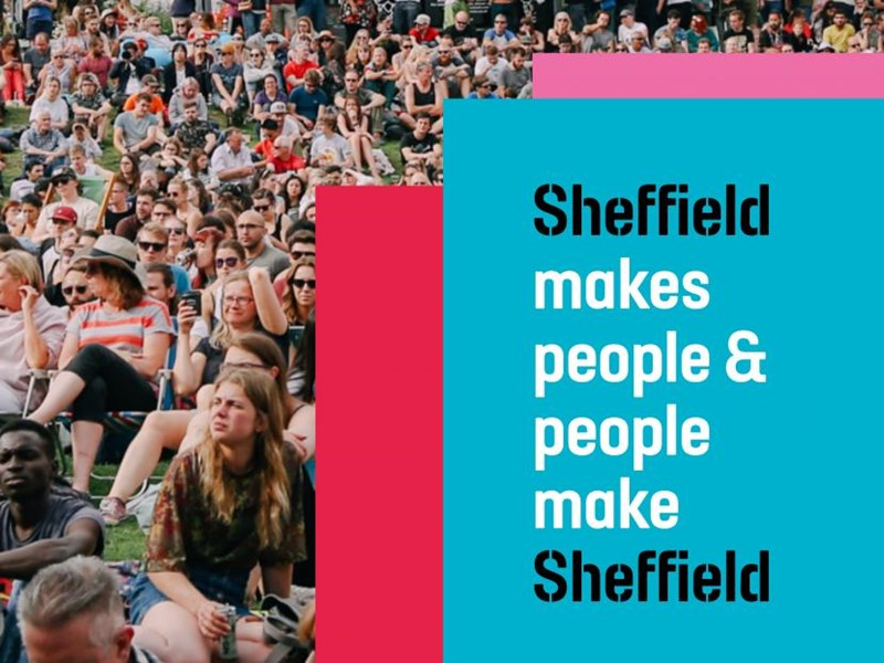 Sheffield makes people brand
