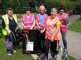 Firth Park litter pickers