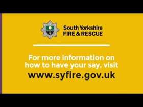 south yorkshire fire service poster