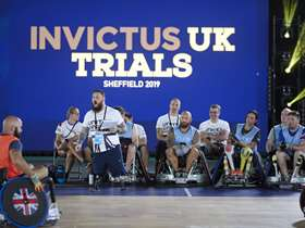 Invictus UK Trials - Highlights from the sporting action