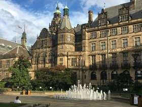 Photograph of Sheffield Town Hall